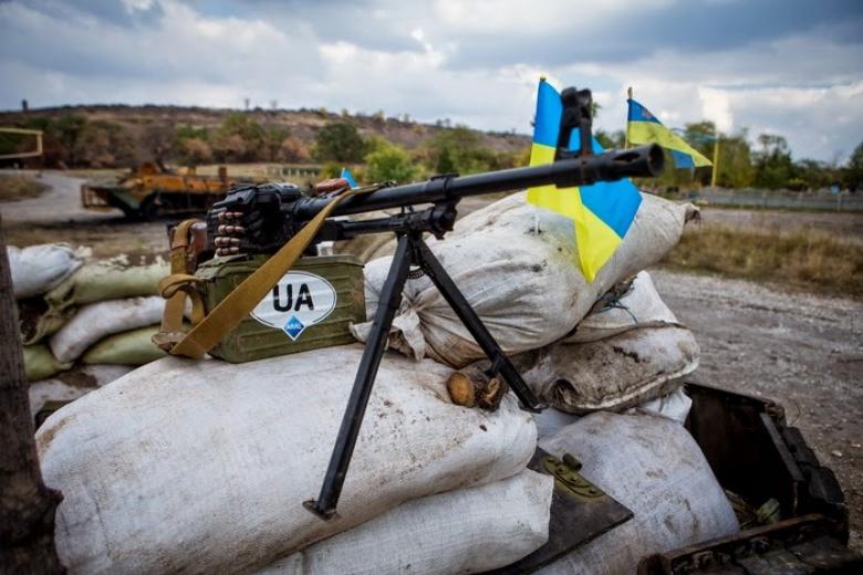 Засутки боевики шесть раз нарушили тишину, один боец умер - штаб АТО