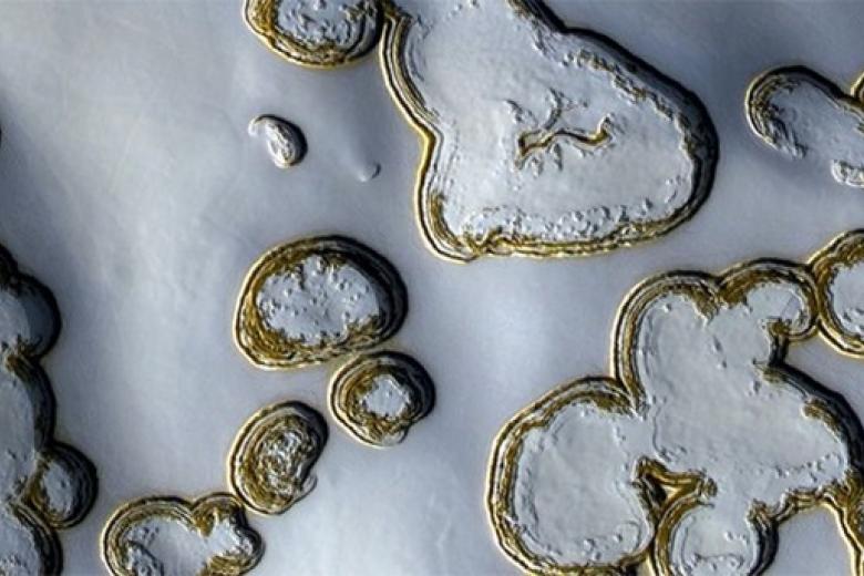 На Марс пришла зима: новые фотографии NASA