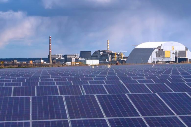 ВЧернобыле запустят первую солнечную электростанцию за млн  евро