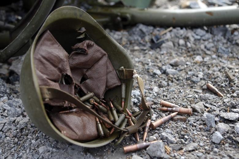Штаб АТО: НаДонбассе ранен один украинский военный