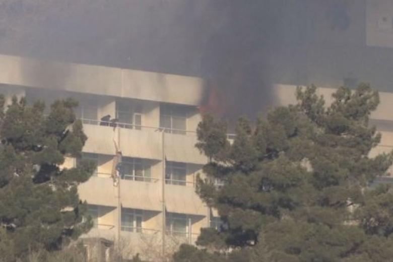 Боевики, напавшие наотель вКабуле, убили девять жителей Украинского государства