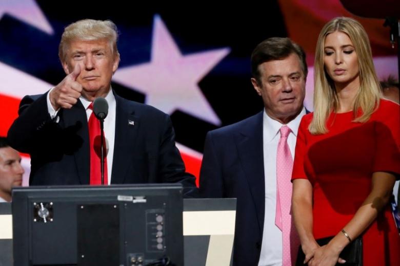 Трамп отыскал способ спасти оттюрьмы Пола Манафорта иэкс-советника Флинна