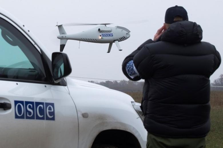 «Пасхальное перемирие»: боевики сбили беспилотник ОБСЕ
