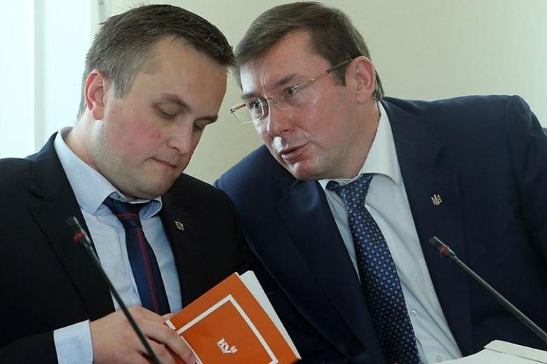 Генеральный прокурор  поведал  подробности— Дело Холодницкого