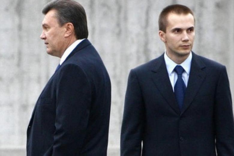 Избанка сына Януковича вывели два млрд. грн после разморозки счетов