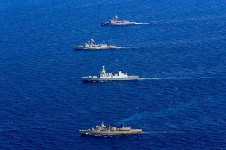 СМИ проинформировали о кораблях НАТО вЧерном море